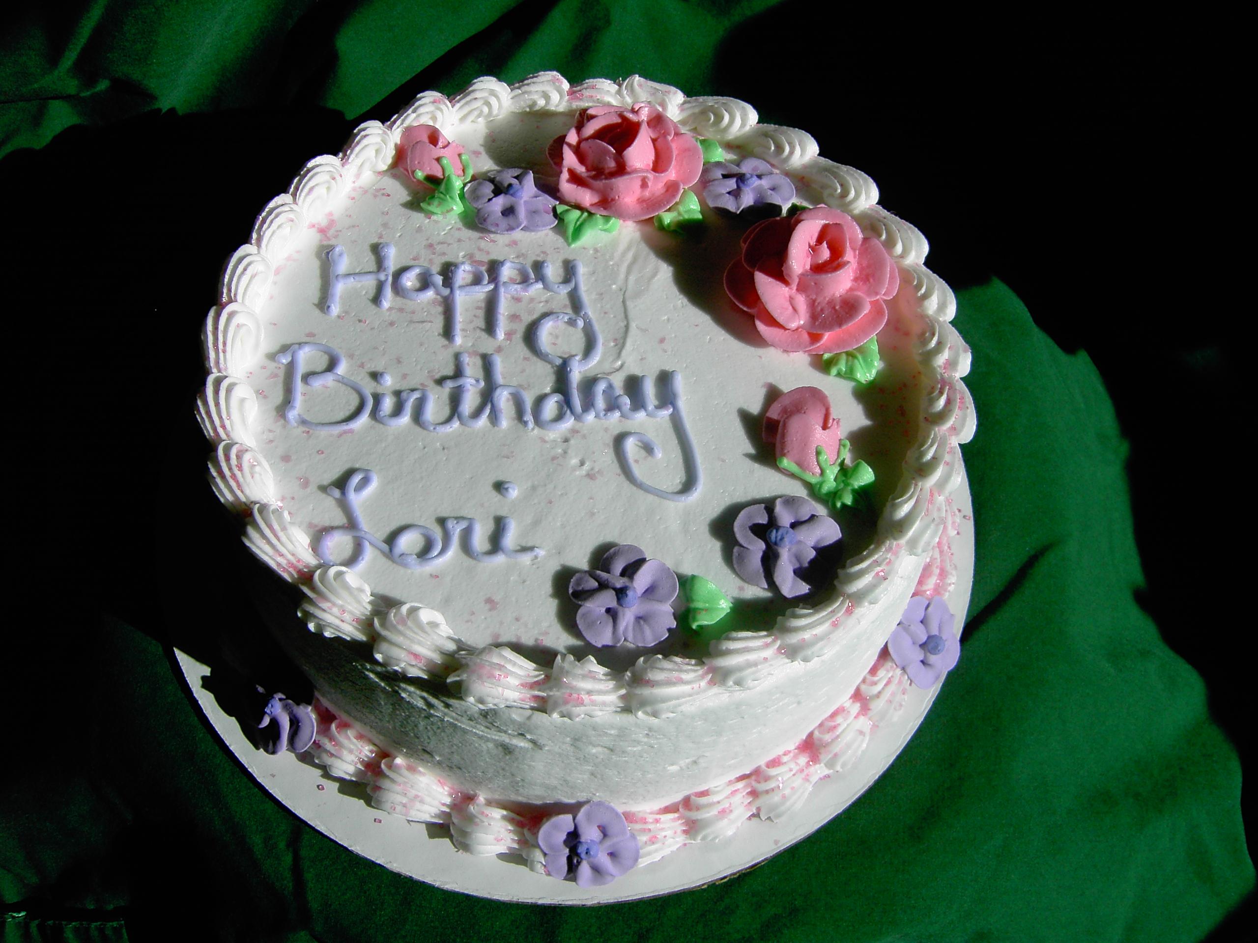 Happy birthday, Lori!! Lori